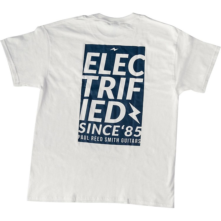 PRSElectrified T-ShirtXX LargeWhite