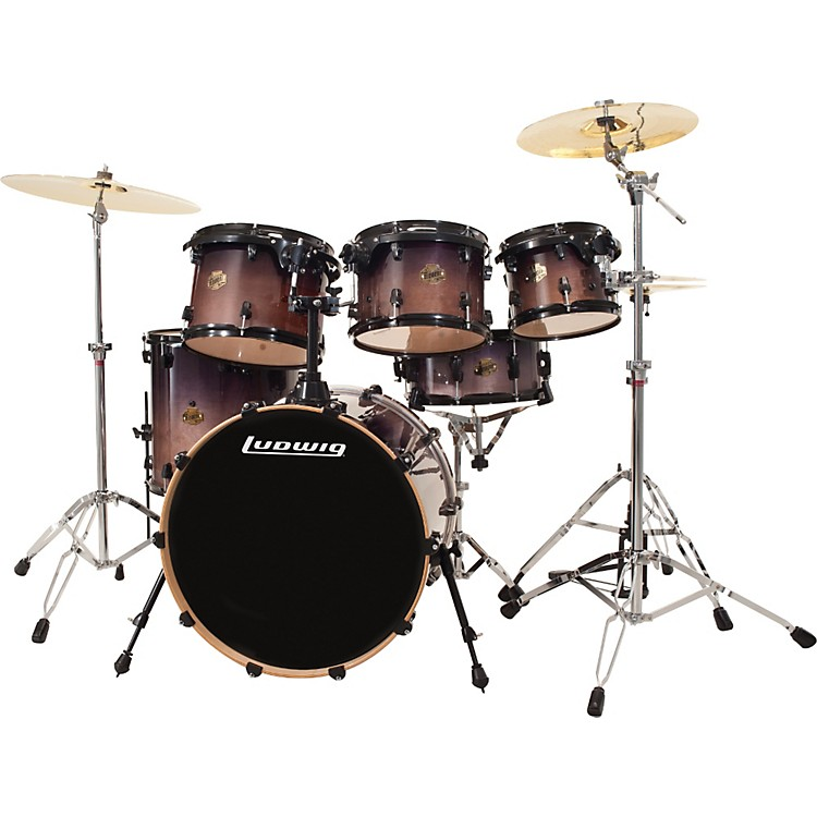 Ludwig Element Birch Fusion 6-Piece Shell Pack