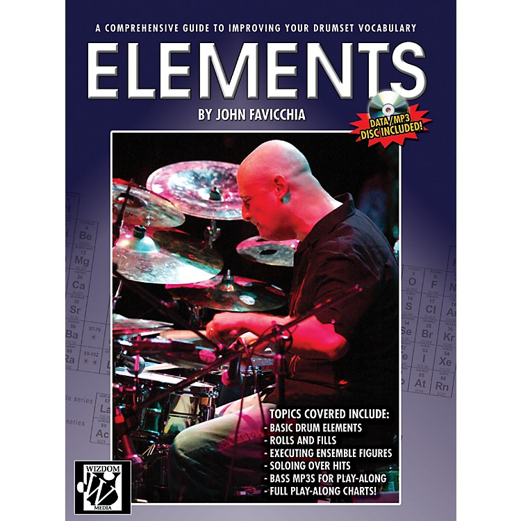 AlfredElements Drum Set Book & CD