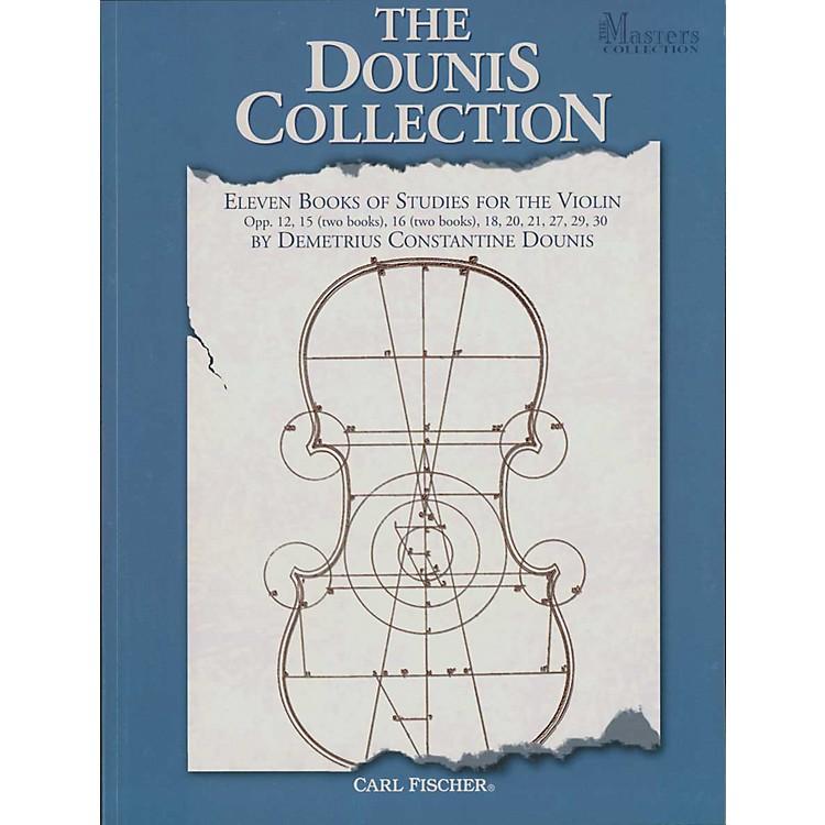 Carl FischerEleven Books Of Studies For The Violin Book