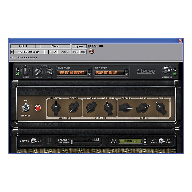 Digidesign Eleven LE Plug-In