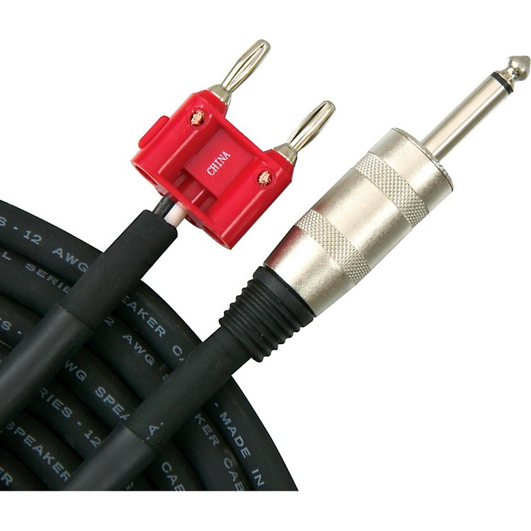 Livewire Elite 12g Speaker Cable Banana to 1/4