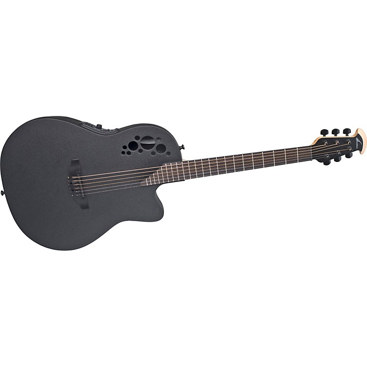 OvationElite 1868 TX Acoustic-Electric GuitarBlack