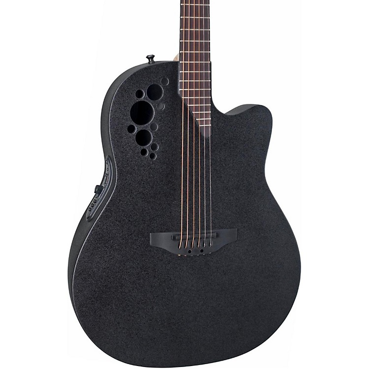 Ovation Elite 2078 TX Acoustic-Electric Guitar Black