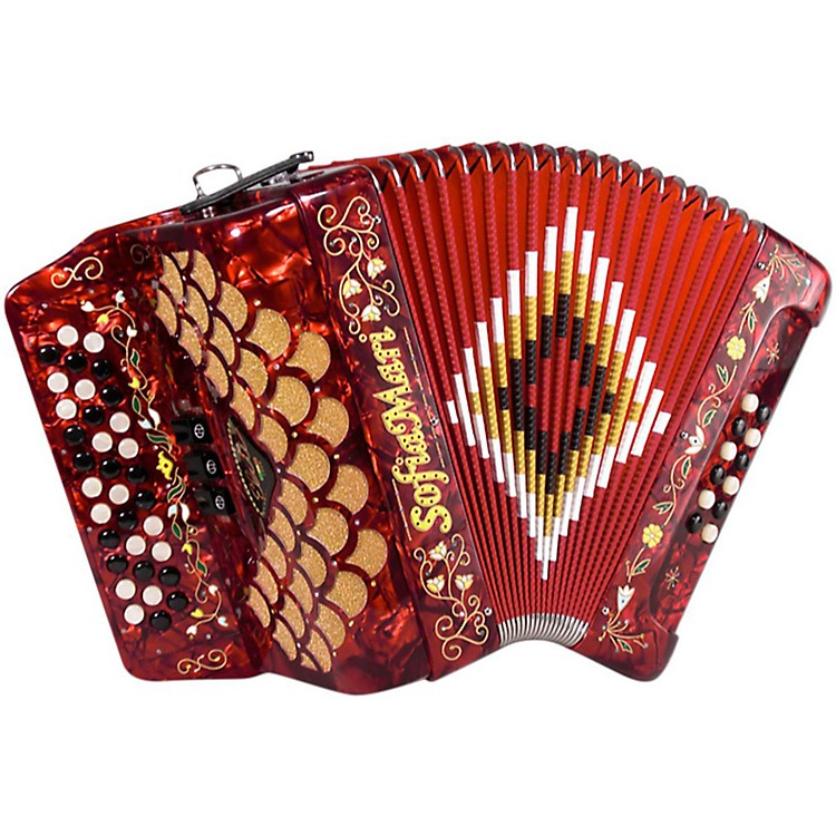 SofiaMari Elite Accordion Red Pearl Ead