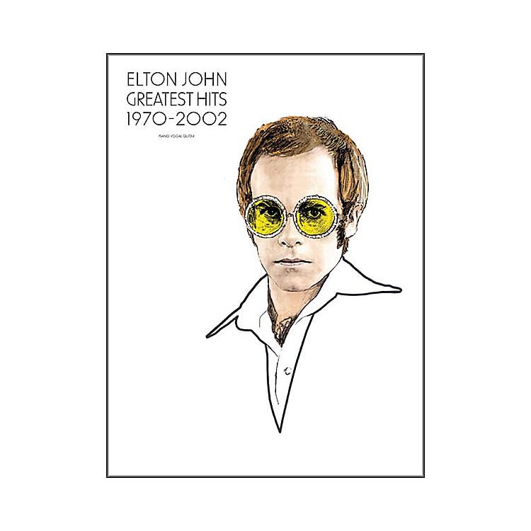 Hal LeonardElton John - Greatest Hits 1970-2002 Piano, Vocal, Guitar Songbook