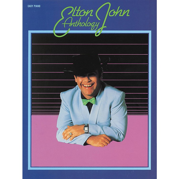 Hal Leonard Elton John Anthology For Easy Piano