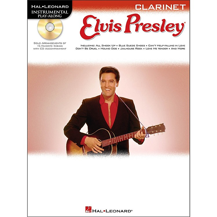 Hal Leonard Elvis Presley for Clarinet - Instrumental Play-Along Book/CD Pkg