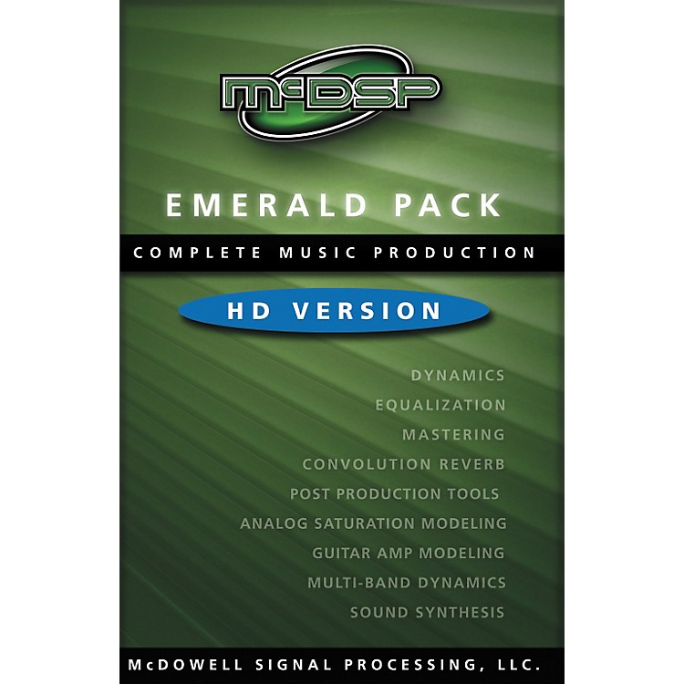 McDSP Emerald Pack 4.0 Software - HD Version