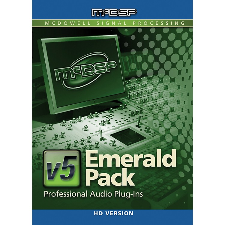 McDSP Emerald Pack HD v5 Software Download