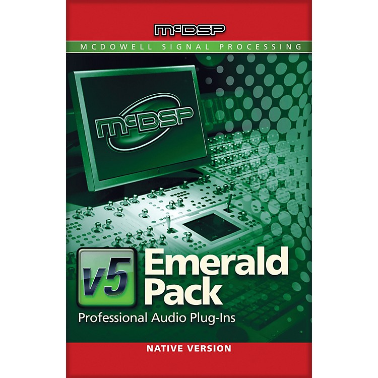 McDSP Emerald Pack Native v5 Software Download