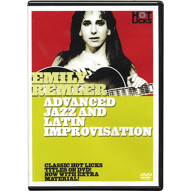 Hot LicksEmily Remler Advanced Jazz and Latin Improvisation DVD
