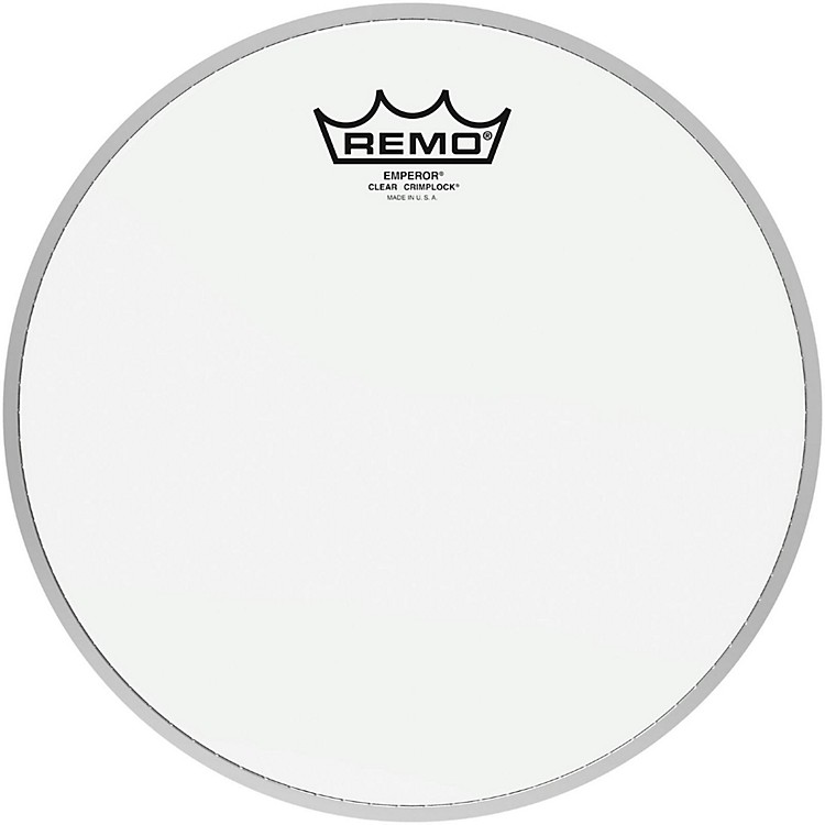 Remo Emperor Clear Crimplock Tenor Drumhead 10 in.