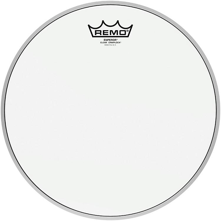RemoEmperor Clear Crimplock Tenor Drumhead12 in.
