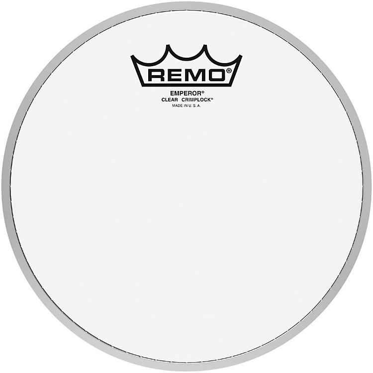 RemoEmperor Clear Crimplock Tenor Drumhead8 in.