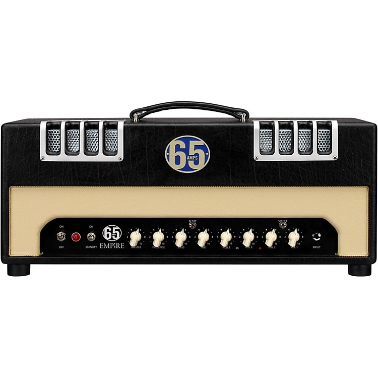 65amps Empire 22W Tube Guitar Amp Head Black