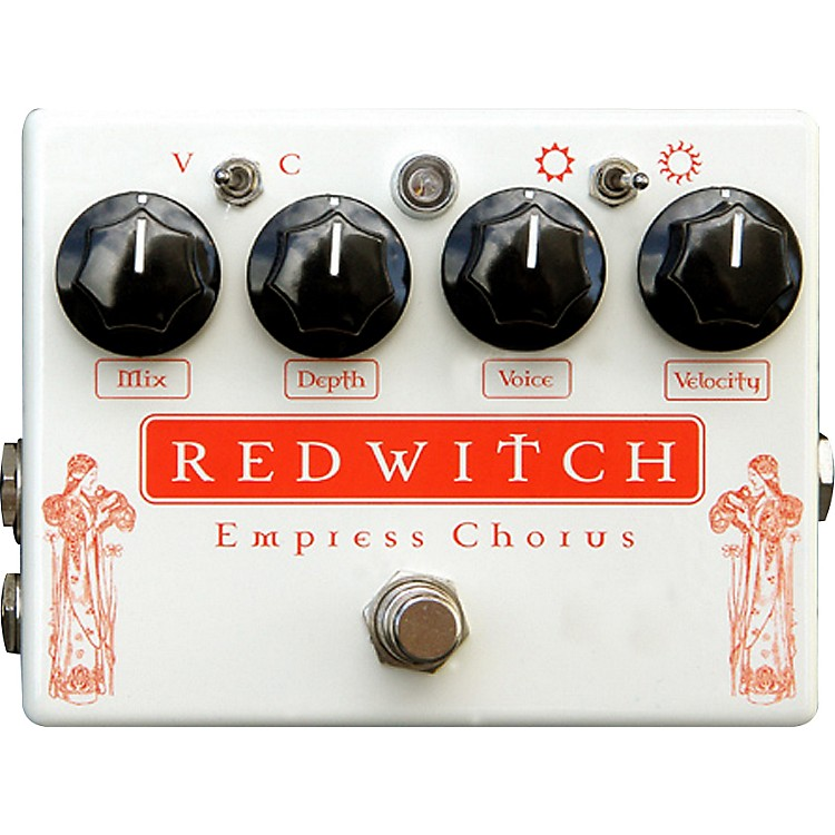 Red WitchEmpress Analog Chorus-Vibrato Guitar Effects Pedal