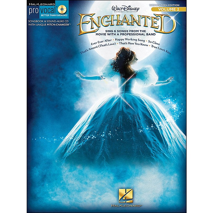 Hal LeonardEnchanted - Pro Vocal Songbook & CD for Women/Men Volume 2