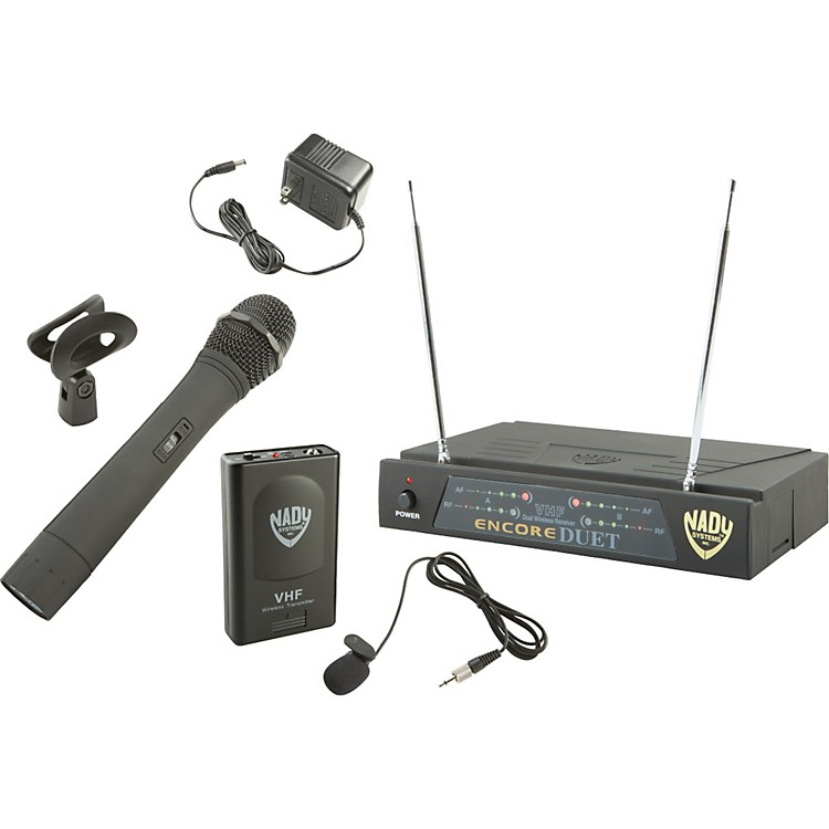 Nady Encore DUET HT/LT/O Combo Wireless System