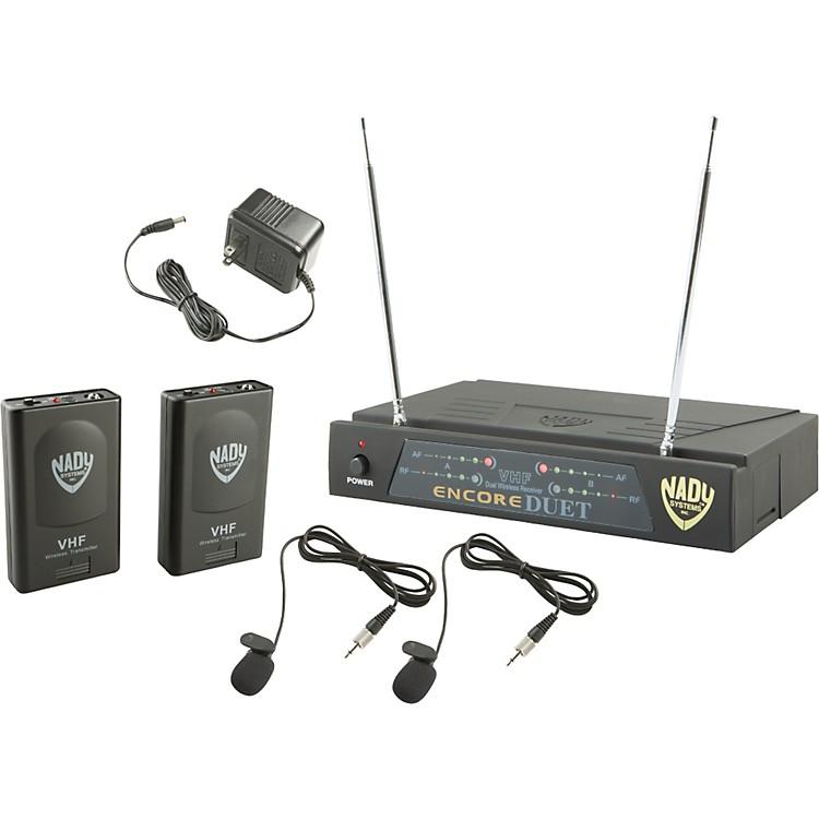 NadyEncore DUET LT/O Wireless SystemBand A and F