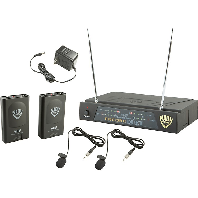 NadyEncore DUET LT/O Wireless SystemBand A1 and D ( and )
