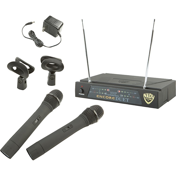 NadyEncore DUET WHT Handheld Wireless System