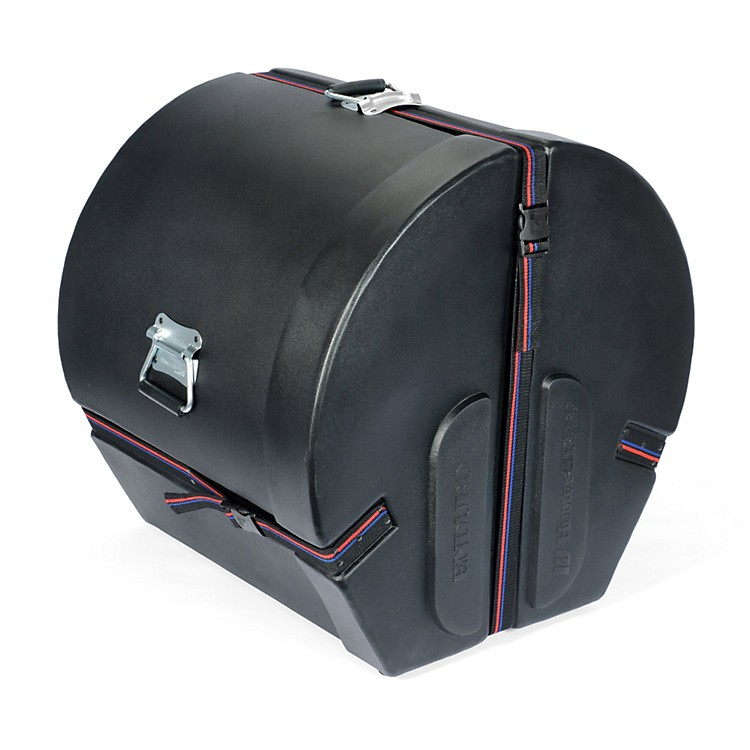Humes & Berg Enduro Bass Drum Case Black 18x24