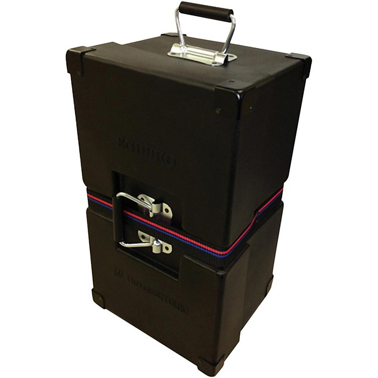 Humes & Berg Enduro Bongo Case with Foam Black 20 x 11 x 9 in.