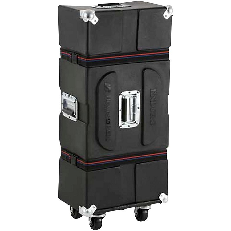 Humes & Berg Enduro Hardware Case with Casters and Foam Black 36 in.