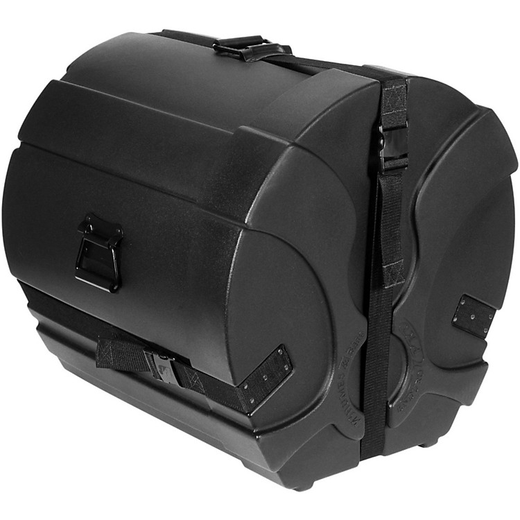Humes & Berg Enduro Pro Bass Drum Case with Foam Black 24 x 16 in.