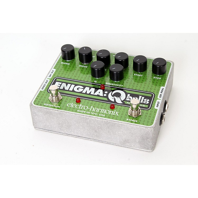 Electro-Harmonix Enigma Qballs Envelope Filter Bass Effects Pedal Regular 888365902784