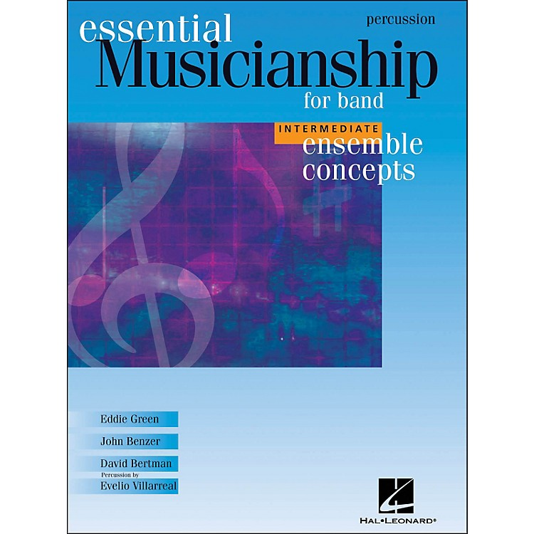 Hal Leonard Ensemble Concepts for Band - Intermediate Level Percussion