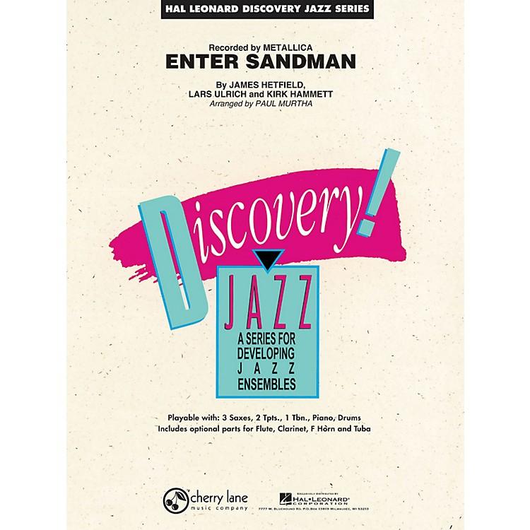 Hal LeonardEnter Sandman - Discovery Jazz Series Level 1.5
