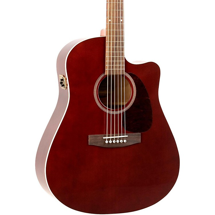 SeagullEntourage CW GT QI Acoustic-Electric GuitarBurgundy