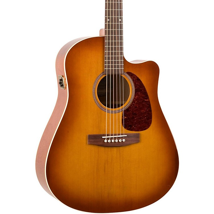 Seagull Entourage CW GT QI Acoustic-Electric Guitar Rustic