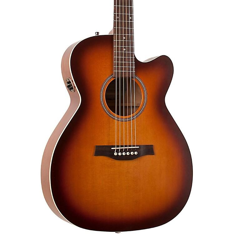 SeagullEntourage Rustic Concert Hall CW QIT Acoustic-Electric GuitarSunburst