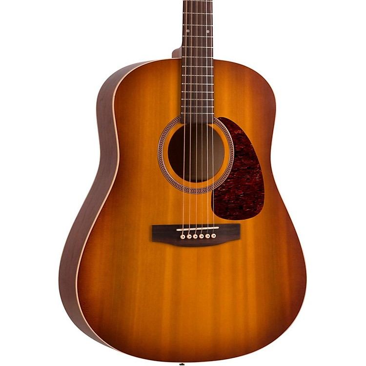 Seagull Entourage Series Dreadnought QI Acoustic-Electric Guitar Rustic Burst