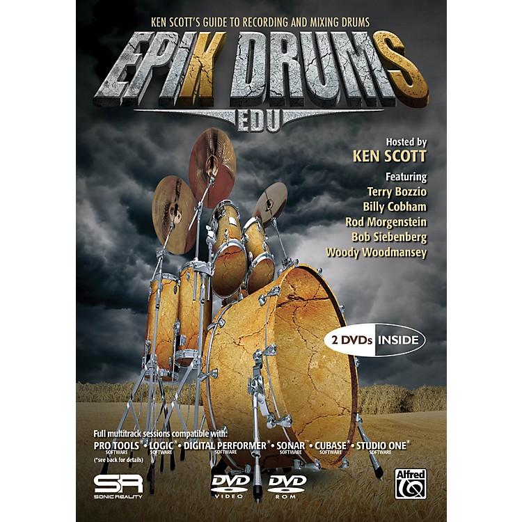 AlfredEpiK DrumS EDU by Ken Scott 2 DVDs