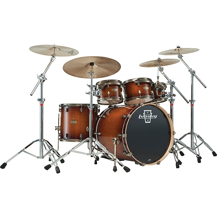 LudwigEpic Euro 6-Piece Shell Pack