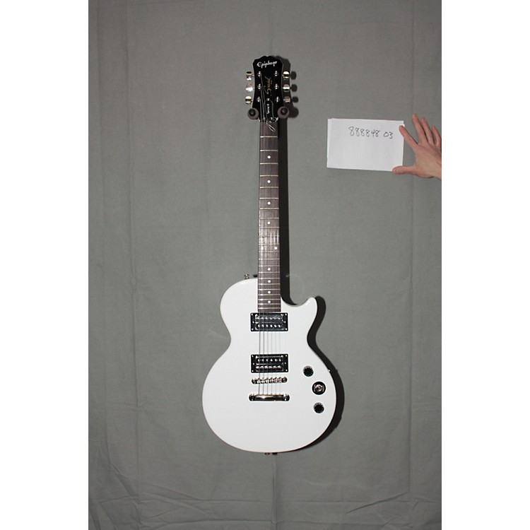 used epiphone les paul special ii electric guitar white music123. Black Bedroom Furniture Sets. Home Design Ideas