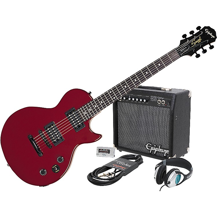 epiphone les paul special ii player pack ebony № 277371