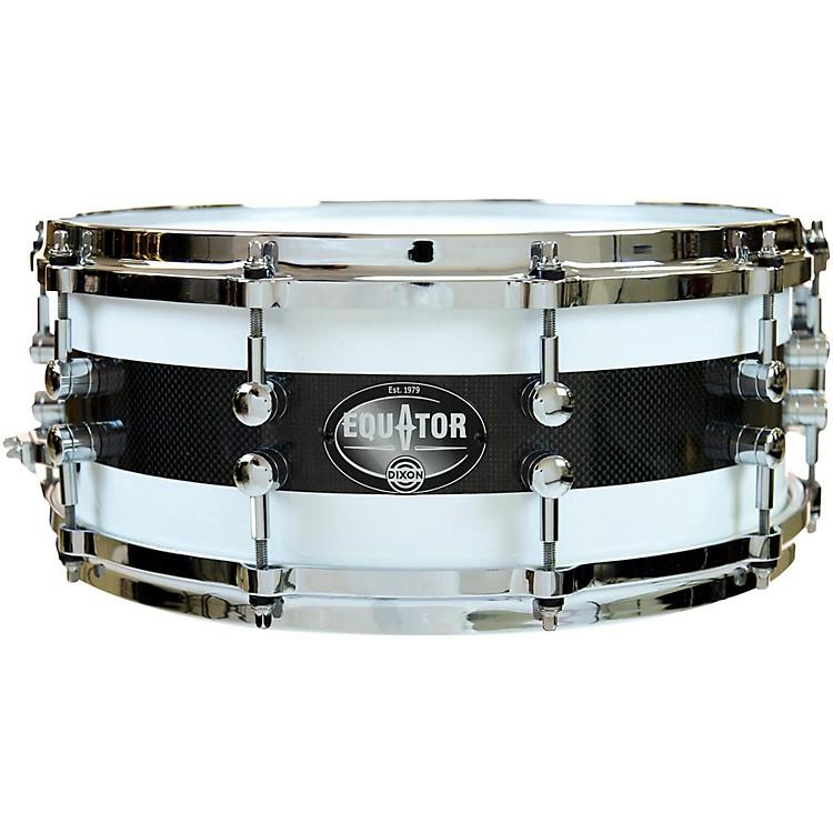 DixonEquator Series Maple/Carbon Fiber Snare Drum14 x 5.5 in.
