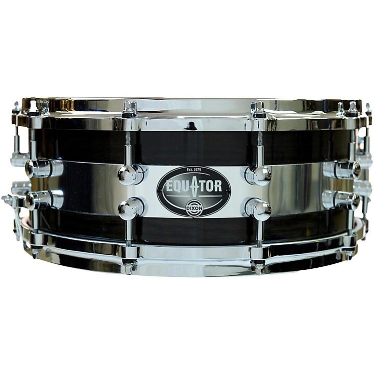DixonEquator Series Oak/Steel Snare Drum14 x 5.5 in.