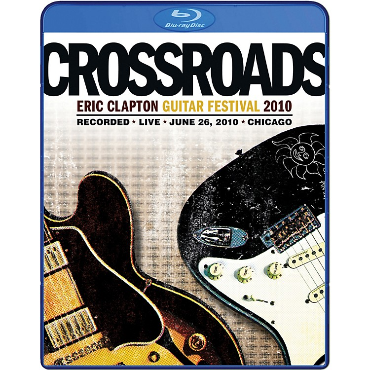 WEA Eric Clapton - 2010 Crossroads Guitar Festival DVD or Blu-Ray Video 2 Blu Ray Disc Set