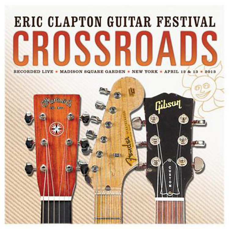WEAEric Clapton Crossroads Guitar Festival 2013 CD