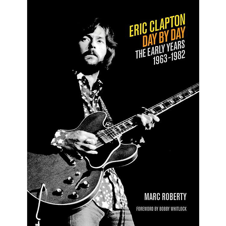 Backbeat BooksEric Clapton Day By Day Volume 1