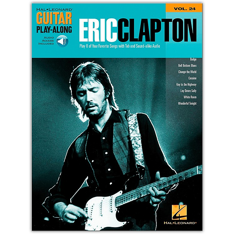 Hal LeonardEric Clapton Guitar Play-Along Series Book with CD Vol. 24