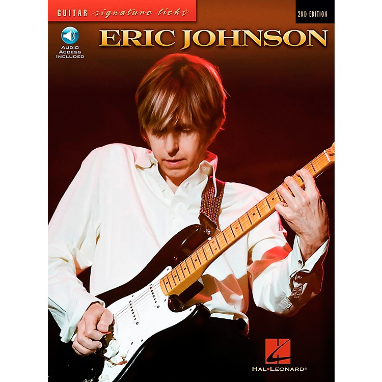 Hal Leonard Eric Johnson Guitar Signature Licks Book with CD