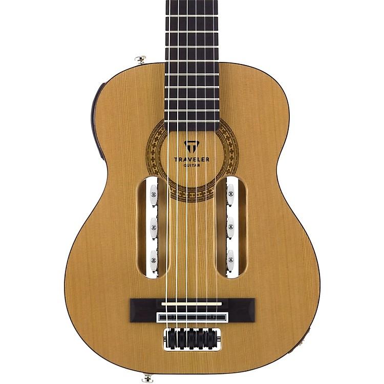 Traveler GuitarEscape Classical Nylon-String Acoustic-Electric GuitarNatural
