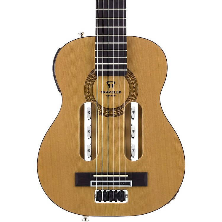 traveler guitar escape classical nylon string acoustic electric guitar natural music123. Black Bedroom Furniture Sets. Home Design Ideas